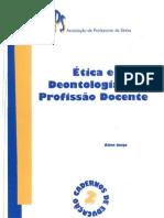 Ética e Deontologia da Profissão Docente