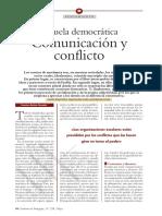 Beltrán, F. - Escuela democrática, Comunicación y Conflicto