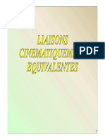 11- Cinematique Liaisons Equivalentes