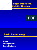 Microbiology, Infection and Antibiotic Therapy