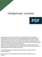 Intergrannular Corrosion