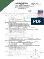 MATH-10-Test-with-Answer-Key