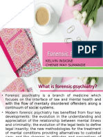 Forensic Psychiatry (Insigne and Sumande).ppt