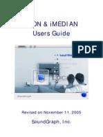 Imon & Imedian User's eng