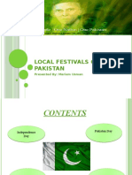 Local Festivals Of Pakistan