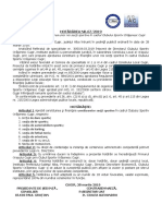 HCL nr.67 Constituire sectii sportive