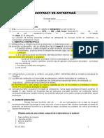 Contract Izolare Termica Imobil