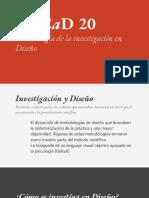 MECaD 2020 metodologia de la investigacion en diseño