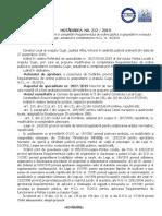 HCL nr.212, modificare si completare Regulament ordine publica