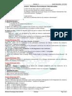 Examens Du Module Relations Économiques Internationales