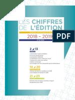 LES CHIFFRES DE L'ÉDITION 2018 – 2019 SYNTHESE