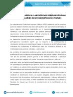 AFIP - Beneficiarios Finales