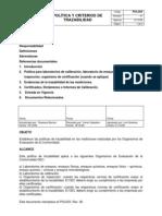 NOM 17025 Criterios Medicion Diciembre2009