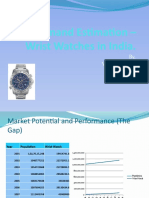 Demand Estimation Wristwatches