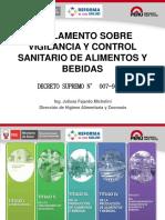 REGLAMENTO SOBRE VIGILANCIA Y CONTROL SANITARIO DE ALIMENTOS.pdf