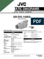 JVC Camcorder GR-DVL145EG Diagrama Esquematico
