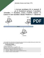 TP Administration reseaux sous Linux