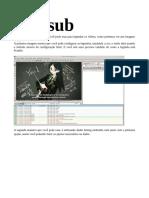 Arch Linux -- Aegisub - Gnome-subtitles