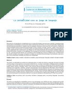 Artículo_la contabilidad como juego de lenguaje