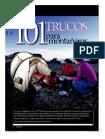 101TRUCOS para montañeros