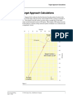 Directional Drilling - Target Approach Calculations