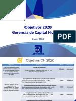 Objetivos CH 2020