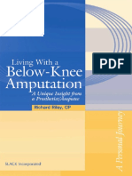 Living with a Below - Knee Amputation - A unique insight from a prosthetist - Amputee - 2005