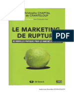 Le Marketing de Rupture (Résumé)