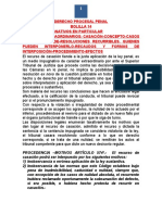 Derecho Procesal Penal Bolilla 14