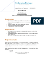 IntroductionToCompuserScienceAndProgramming-CourseProject-March2020