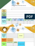 Matriz de Proyección Del Plan de Vida Colectivo