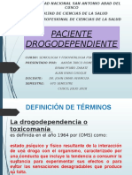 Paciente drogodependiente