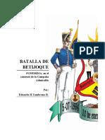 Batalla de Betijoque Por Eduardo II Zambrano Marzo 2020