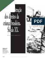 A Lenta Construção dos Direitos da Criança Brasileira no Século XX