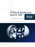 COVID 19 Briefing Note April 13 2020