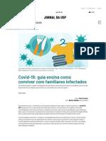 Covid-19_ guia ensina como conviver com familiares infectados – Jornal da USP