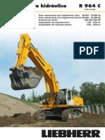 Escavadeiras R 964 C