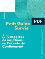 Petit Guide de Survie à l'usage des associations en période de confinement