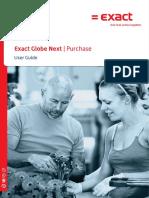 Handbuch-Exact-Globe-Einkauf-englisch