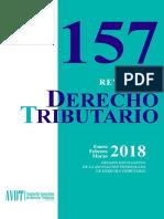 Revista de Derecho Tributario 157 - DEF (24.8.18)