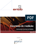 Aula 01 - Conhecendo a Incerteza de Medicao