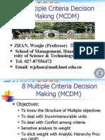 8 Multiple Criteria Decision Making.ppt