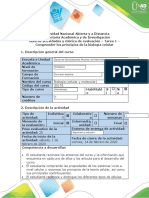 Guía de actividades y rúbrica de evaluación - Tarea 1 -  Comprender los principios de la biología celular (1)