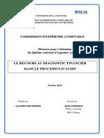 LE RECOURS AU DIAGNOSTIC FINANCIER DANS LE PROCESSUS D'AUDIT.pdf