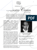 COHEN. Renato. Entrevsita