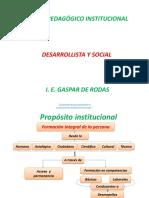 MODELO PEDAGÓGICO DESARROLLISTA Y SOCIAL