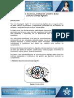 Estrategia de Monitoreo Evaluacion y Control de Las Comunicaciones Digitales