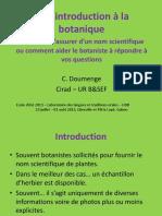 Charles Doumange et Yves Issembe - Introduction a la botanique