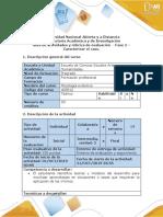 GuÍa  - Fase 2 - Caracterizar el caso 1