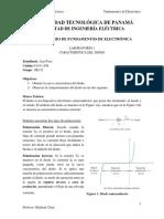 Laboratorio 1 - Característica del diodo